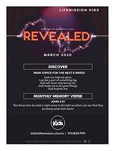 March 2020 LifeMisson Kids
