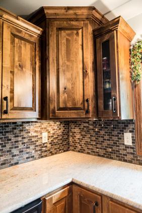 Amish Corner Cabinets