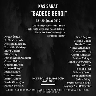 Sadece Sergi - Kas Sanat subat 2019.jpg