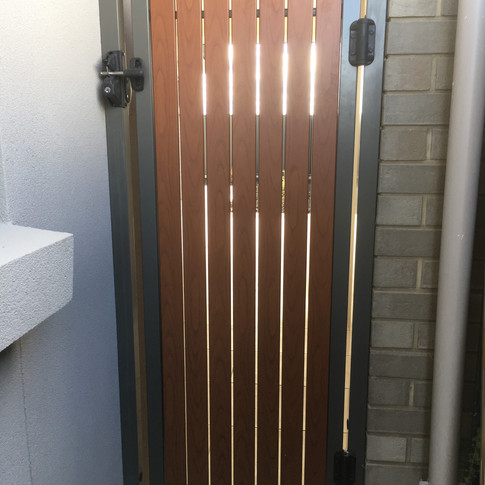 narrow gate by Adelaide Fencing Solutions.JPG