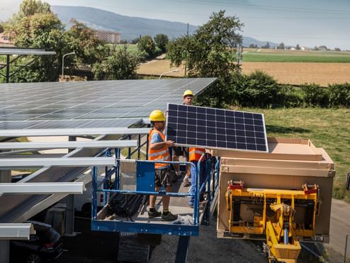 BKW setzen ganz auf Solarstrom!