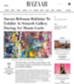 Harper's Bazaar Art Sassan Behnam-Bakhti