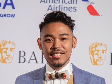 Drama at the red carpet of the BAFTA Student Film Awards 2019 held at The Broad Stage in Santa Monica, California.  Photo by Lan Nguyen