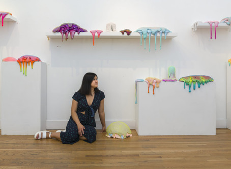 "Revered Sculptor Dan Lam Talks About Her ""Squishy"" Pieces & Figuring Out What to Charge"