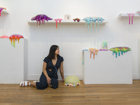"""Revered Sculptor Dan Lam Talks About Her """"Squishy"""" Pieces & Figuring Out What to Charge"""