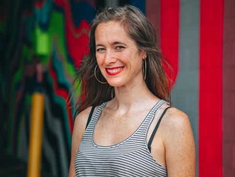Kristina Rolander Wants Her Bayshore Mural to Inspire Joy