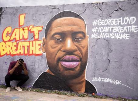See The Powerful Murals Honoring George Floyd