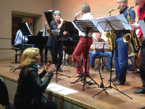beim Jazzworkshop in Freinsheim