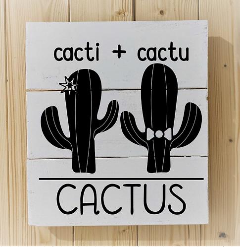 Bastel Box - Cactus