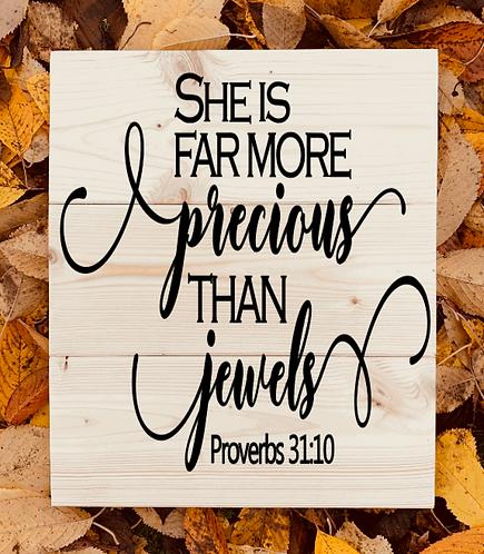 Bastel Box - Proverbs 31:10