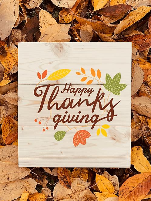 Bastel Box - Fall - Happy Thanksgiving