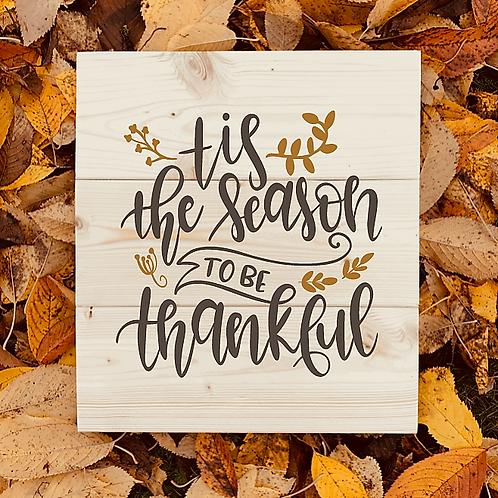 Bastel Box - Fall - tis the season to be thankful
