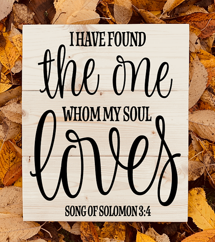 Bastel Box - Song of Solomon 3:4