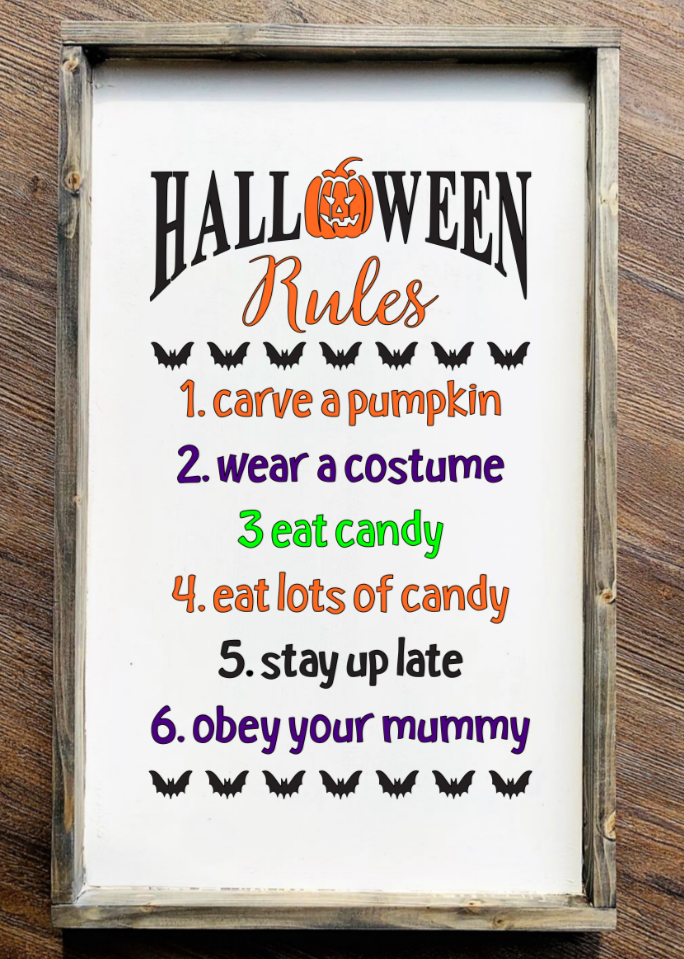 Halloween 5 Rules