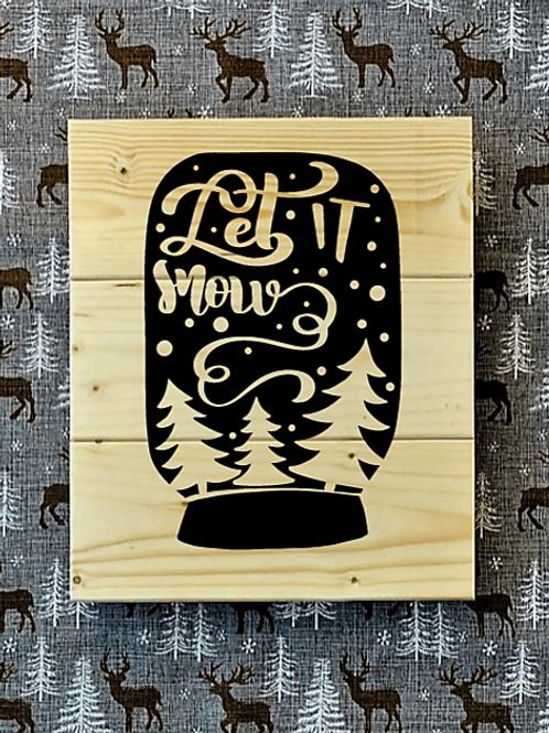 Bastel Box - Christmas - Let it snow