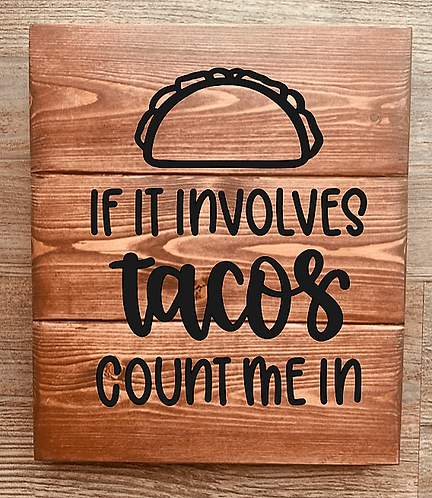 Bastel Box - If it involves tacos count me in