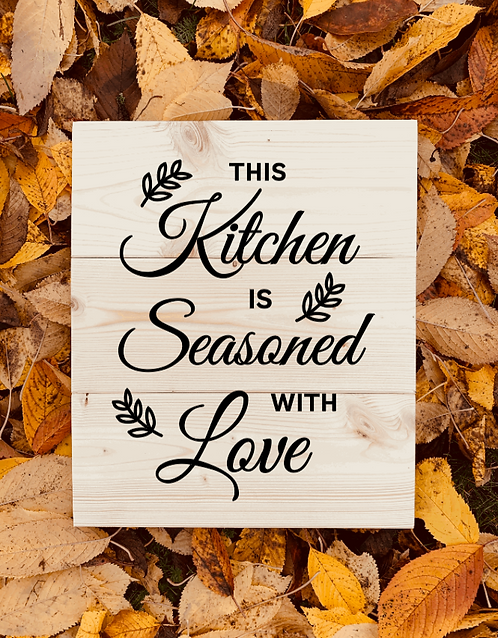 Bastel Box -This kitchen is seasoned with love