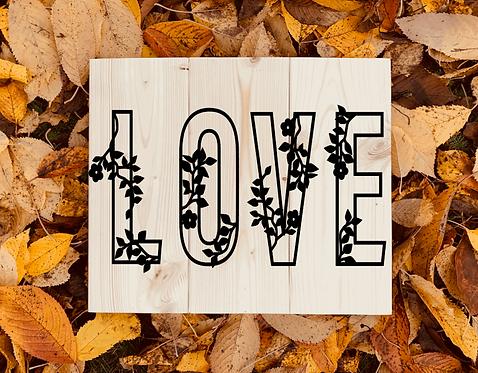 Bastel Box - LOVE