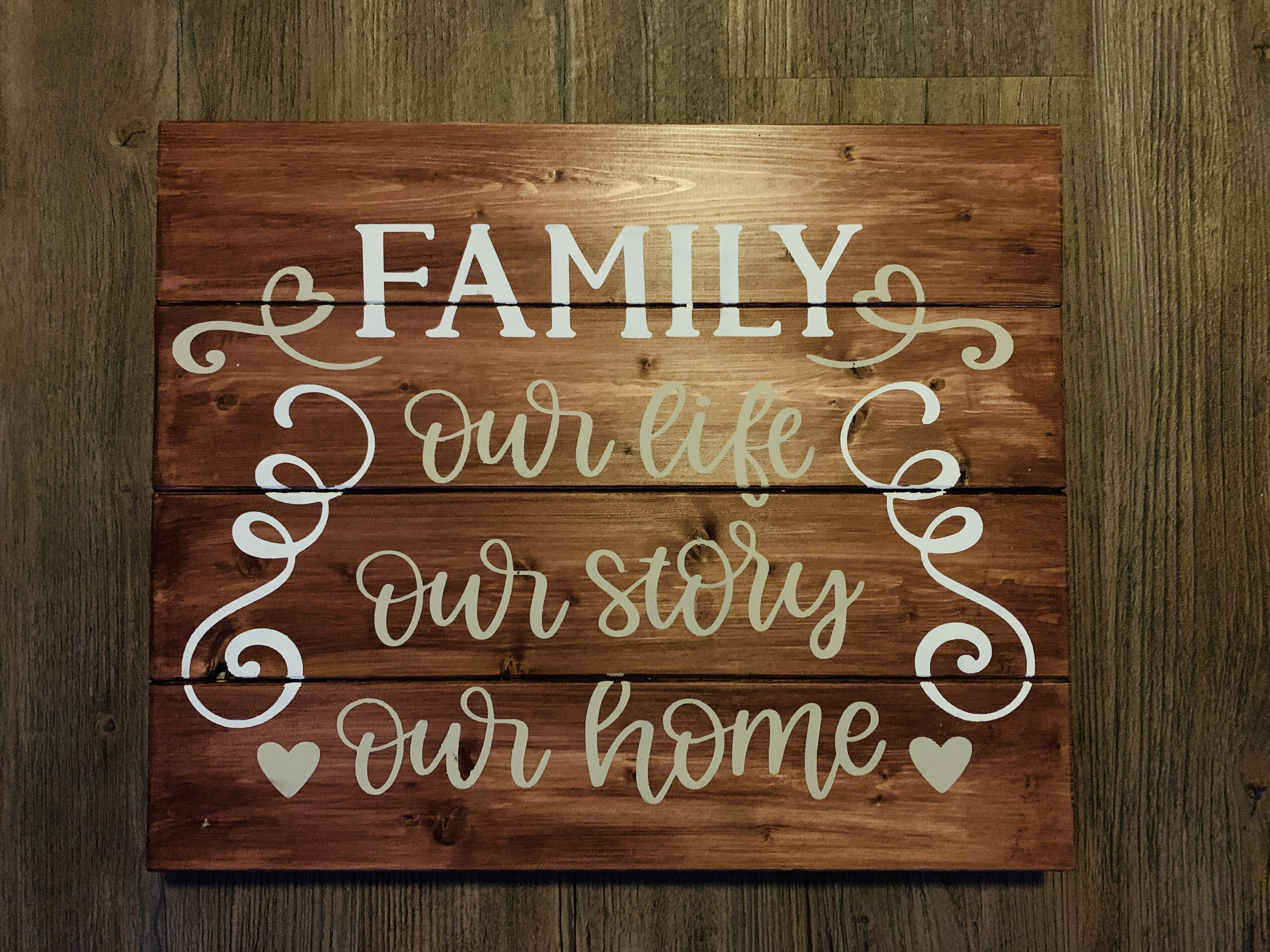 Family, our life, our story...