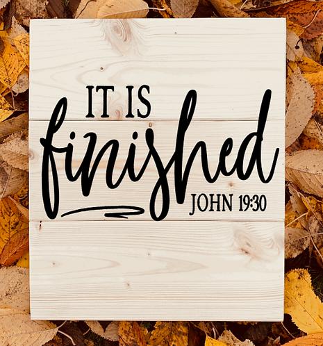 Bastel Box - John 19:30