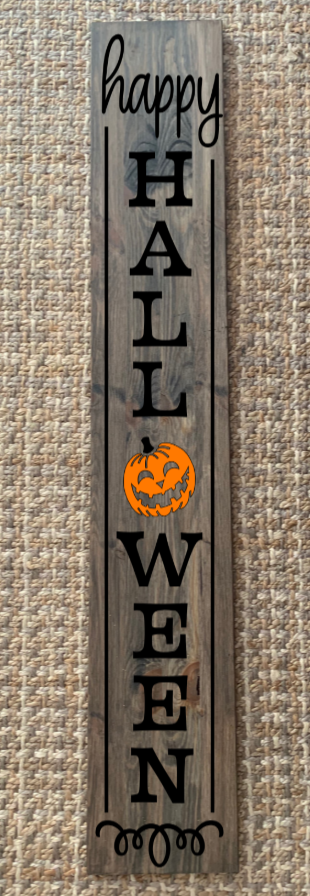 Halloween 2 Happy Halloween door sign
