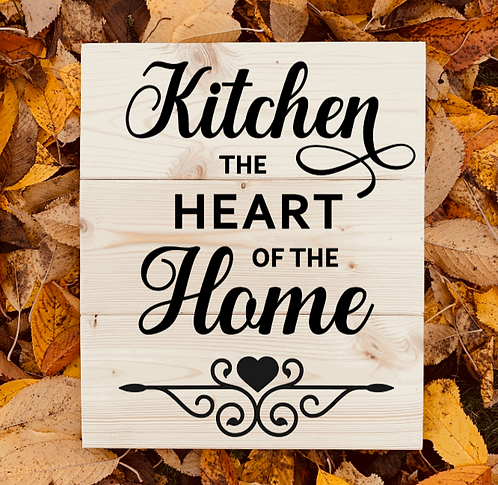 Bastel Box - Kitchen the heart of the home