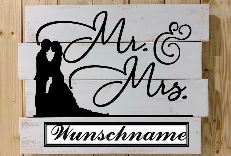 Mr. & Mrs. Hochzeit
