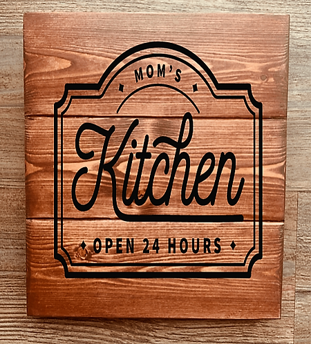 Bastel Box - Mom's Kitchen Open 24 Hours