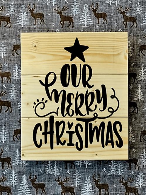 Bastel Box - Christmas - Our merry Christmas