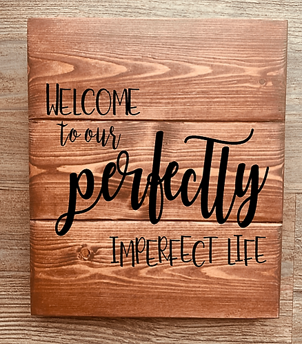 Bastel Box - Welcome to our perfectly Imperfect Life