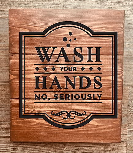 Bastel Box - Wash your hands no, seriously