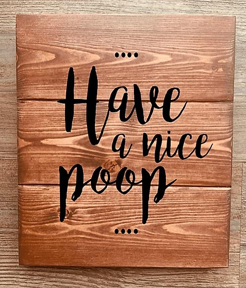 Bastel Box - Have a nice Poop