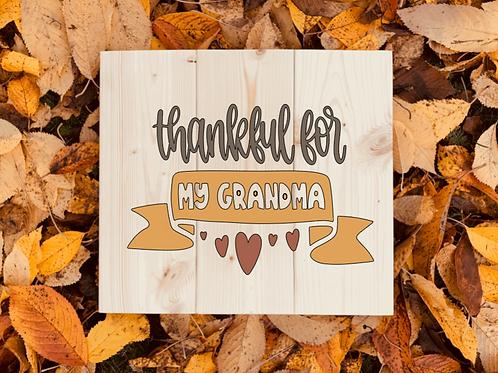 Bastel Box - Fall - thankful for - (name)