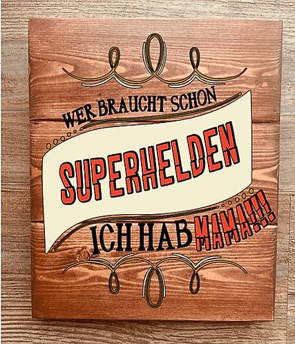 Bastel Box - Superheldin Mama