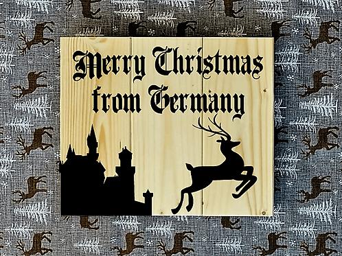 Bastel Box - Christmas - Merry Christmas from Germany