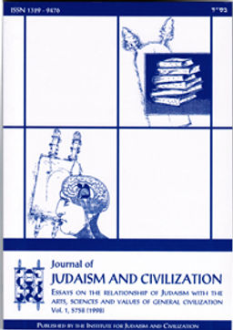 Journal of Judaism and Civilization