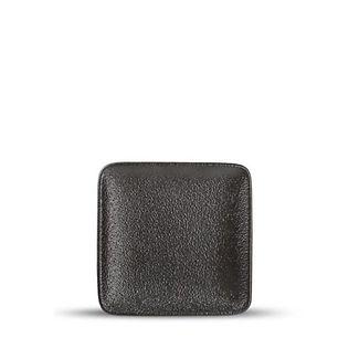 F2D Dusk Black Talerz płaski 10x10 cm.jp