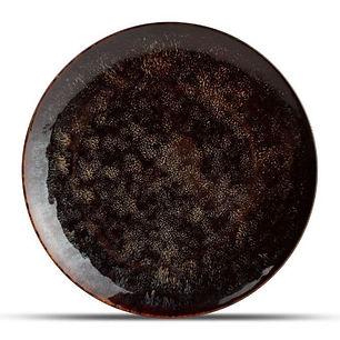 Hazy Black Talerz płaski 26 cm 1.jpg