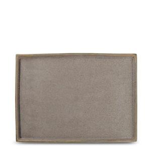 Structo Brown Półmisek 28x20 cm 1.jpg