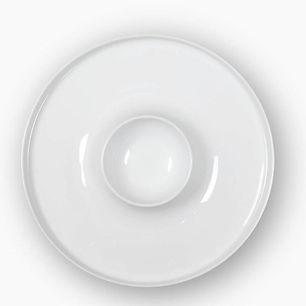 CV Universal White Talerz degustacyjny 2