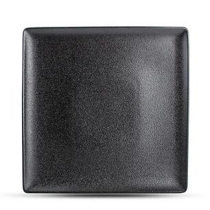 Dusk Black Talerz płaski 26x26 cm.jpg