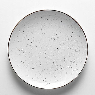 Dots white Talerz płaski 31 cm.jpg
