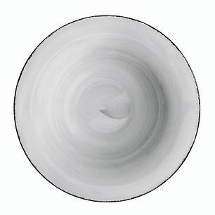 ROYALE Pure Grey Talerz do pasty 30 cm.j