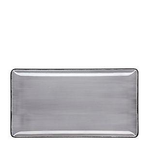 ROYALE Pure Grey Talerz prostokątny 31x2