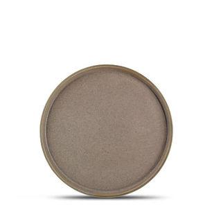 Structo Brown Talerz płaski 20,5 cm 1.jp