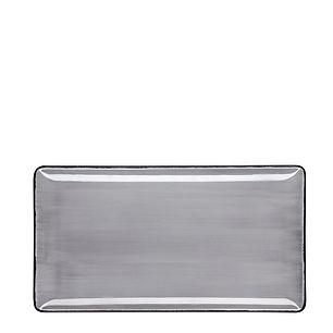 ROYALE Pure Grey Talerz prostokątny 29x1