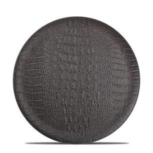 F2D Croco Black Talerz płaski 27 cm.jpg