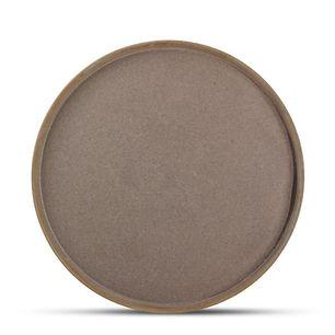 Structo Brown Talerz płaski 28 cm 1.jpg