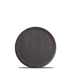 F2D Croco Black Talerz płaski 21 cm.jpg