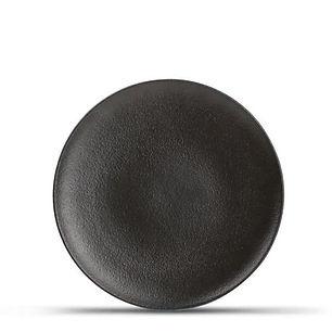 Dusk Black Talerz płaski 21 cm.jpg